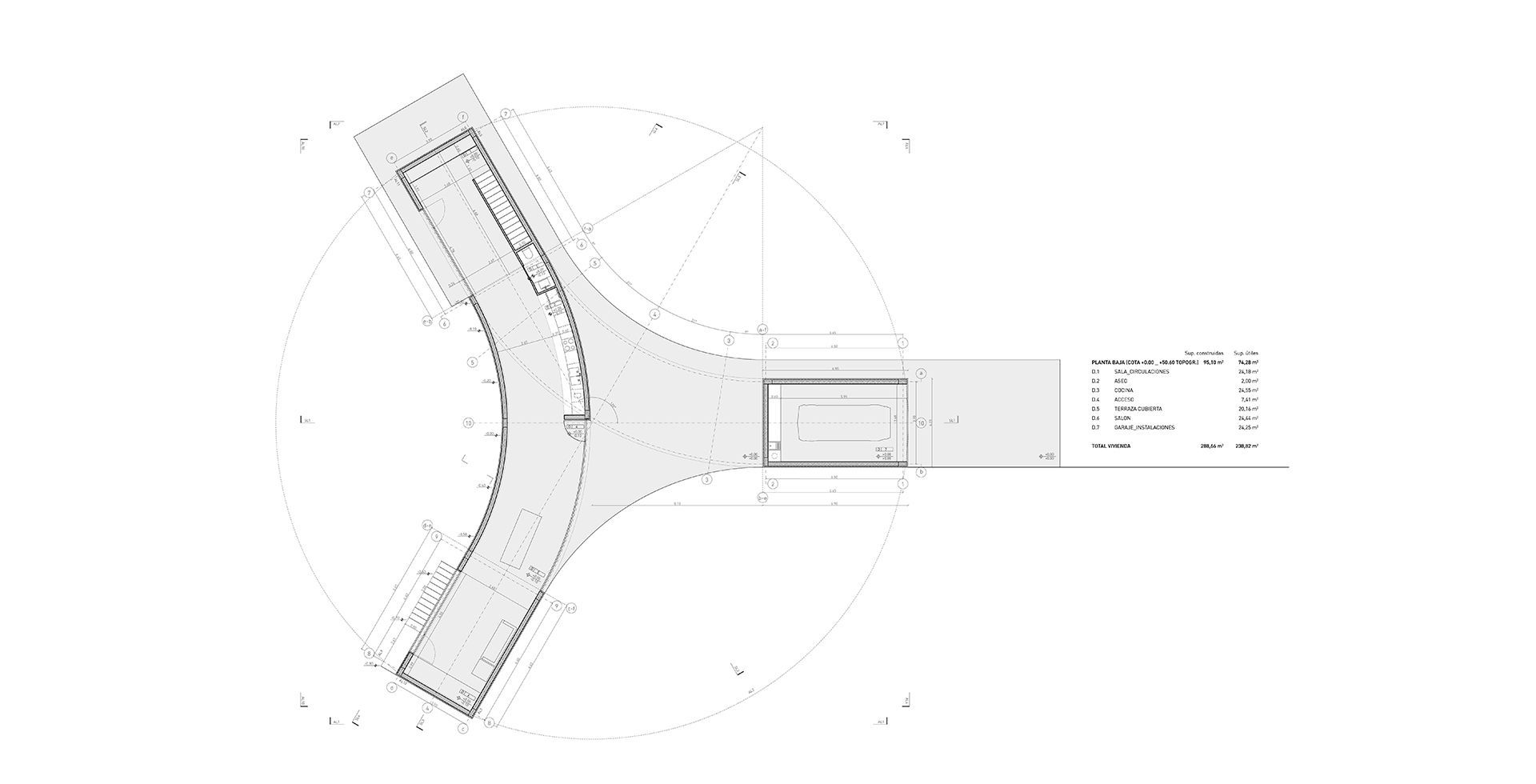 House In An Olive Grove Fran Silvestre Arquitectos Baja Boat Electrical Schematic By The Grout Same Criteria Are Applied To Rest Of Building Elements Using Local Traditional Materials As Time Goes These